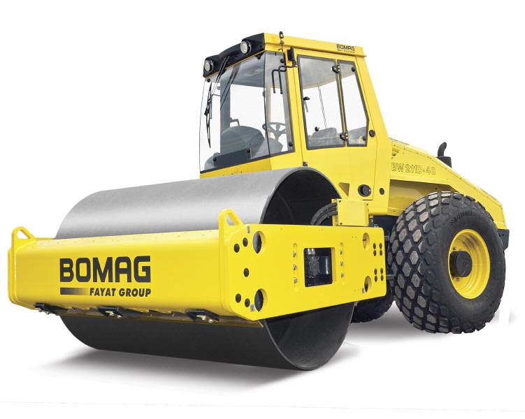 Каток грунтовый BOMAG BW 212 D-40 Ballasted (Германия)