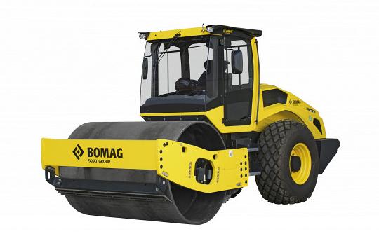 Каток грунтовый BOMAG BW 216 D-5 (Германия)