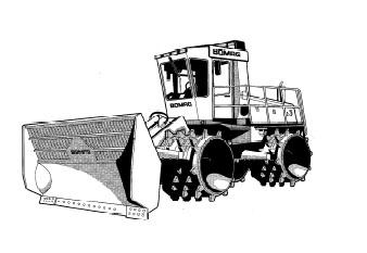 Мусороуплотнитель BC 672 RB-2 (Германия)